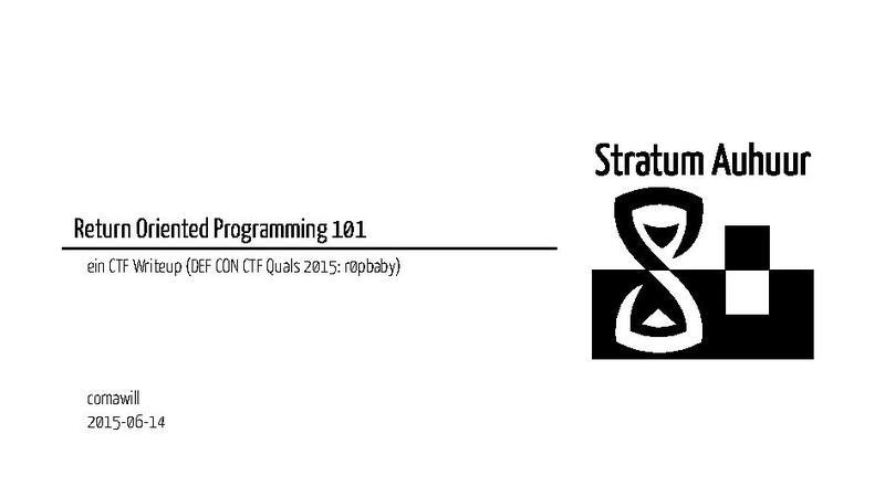 Datei:Return Oriented Programming 101 pdf – Stratum 0